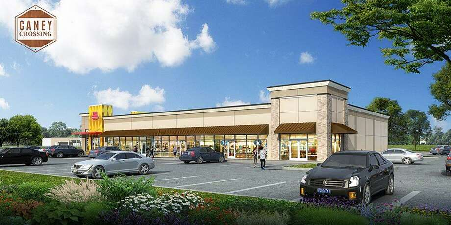 The Wienerschnitzel will be located in the be in the strip center being built in front of the New Caney Walmart, namely, Caney Crossing. Photo: Courtesy Of Criss Cross Commercial Group