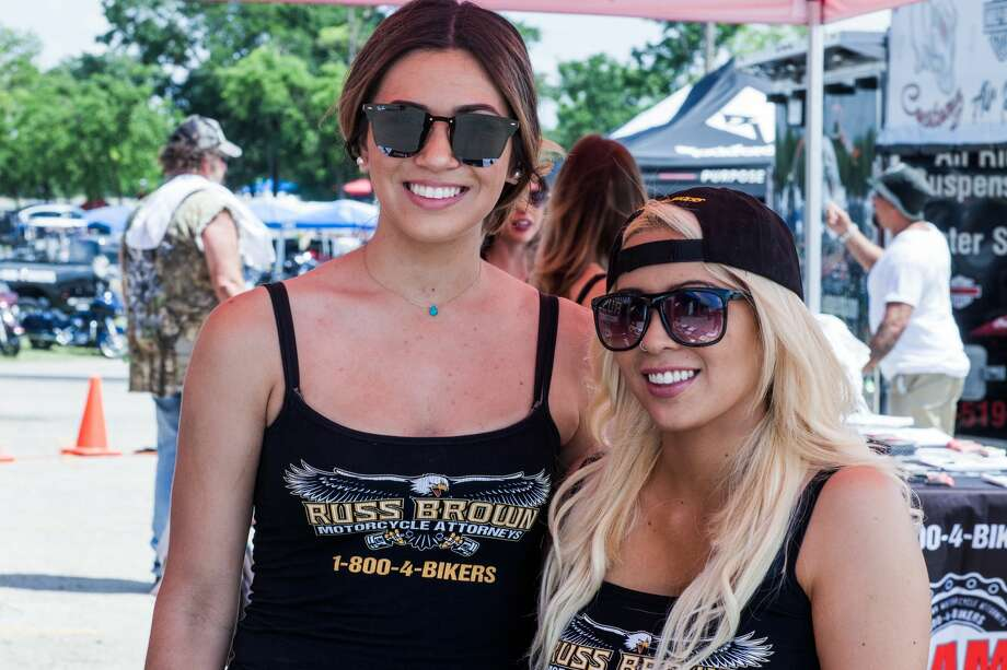 The Republic of Texas Biker Rally revved up Austin Friday, June 8, 2018, kicking off four days of bikes, brews, leather and custom attitudes with a specialized tattoo show and and open exhibit of bikes and hot rods. Photo: Fabian Villa For MySA