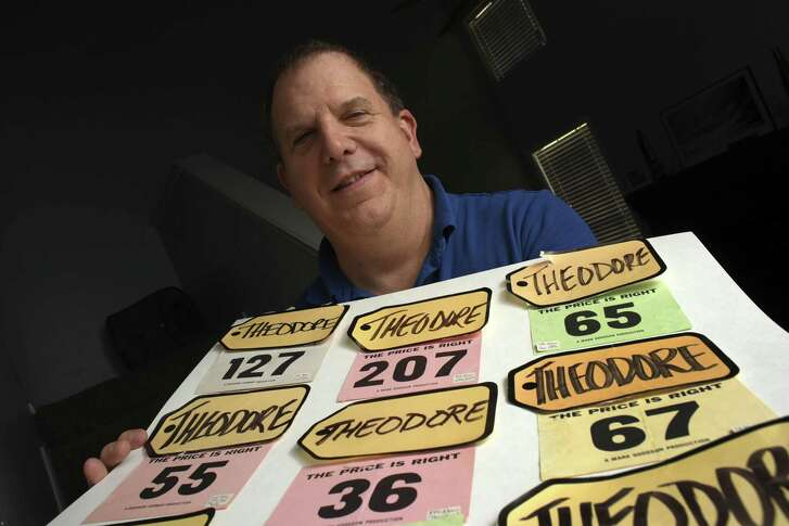 """'The Price is Right' producers require name tags to carry the audience member's full given names. That's why Ted Slauson's read """"Theodore."""""""
