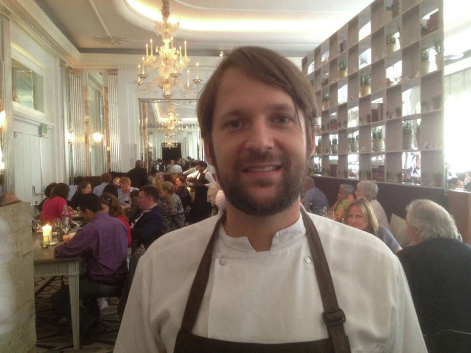 Chef Rene Redzepi in the dining room at A Taste of Noma at Claridge's in London on July 28, 2012. Photo: Richard Vines/Bloomberg / Bloomberg