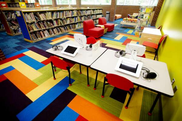 The Grace A. Dow Memorial Library Youth Services Department has been reopened after extensive renovations to repair damages sustained in the June 2017 flood. Renovations include new carpeting, furniture, wallpaper, a maker space and more. (Katy Kildee/kkildee@mdn.net)