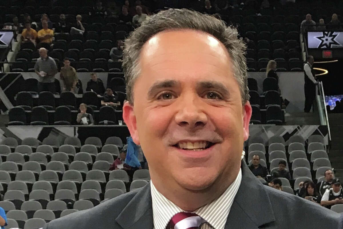 Andrew Monaco, joins Texas A&M as the voice of Aggies football and basketball after a stint with the San Antonio Spurs.