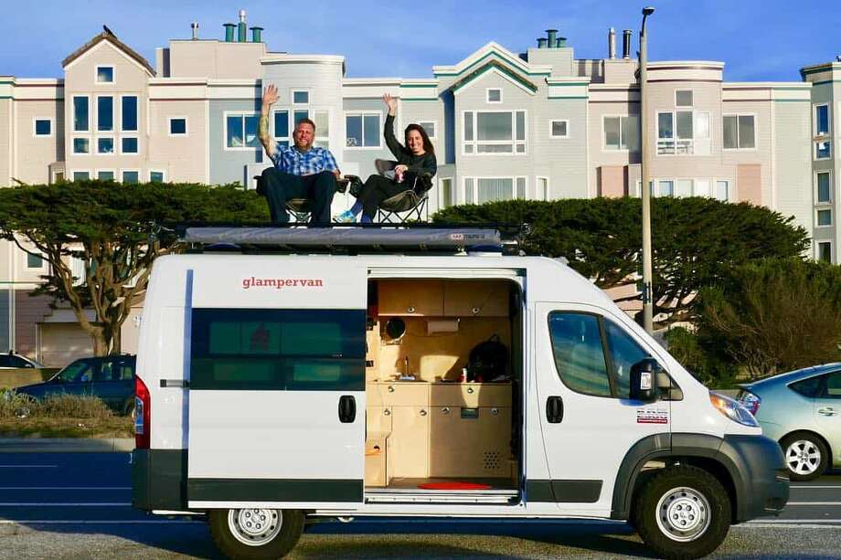 Glampervan is based out of San Francisco. Photo: Instagram.com/glampervan