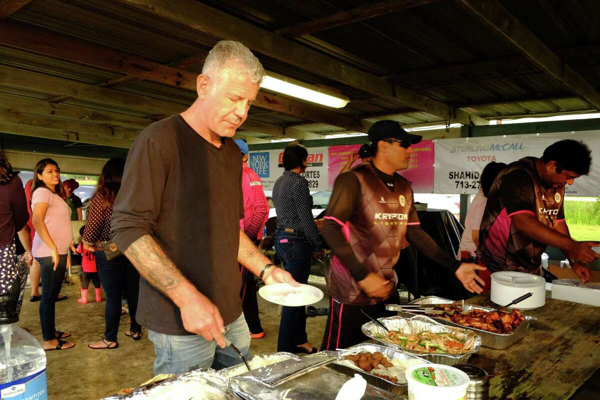 Anthony Bourdain filmed an episode of his CNN show Parts Unknown in Houston. It aired October 30, 2016.