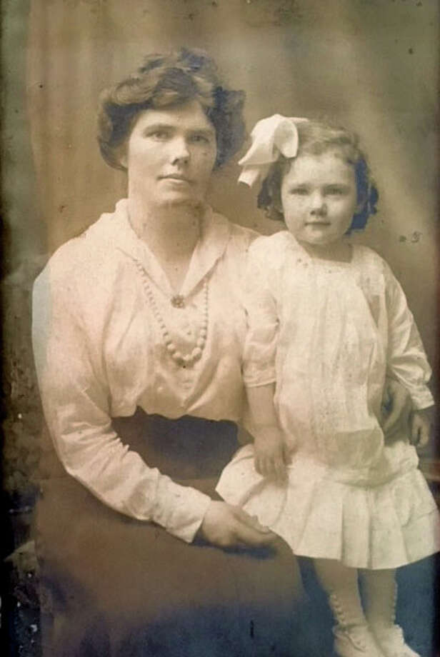 Marion Hanlon with her mother Hannah O'Brien. O'Brien was pregnant with Marion when she survived the Titanic disaster. (Hanlon family) Photo: WILL WALDRON / 40044032A