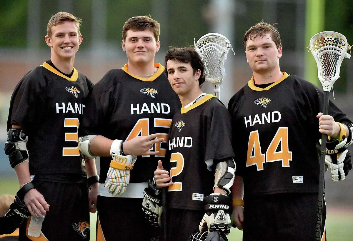 The Hand boys lacrosse team will face top-seeded New Fairfield in the Class M championship game on Saturday.