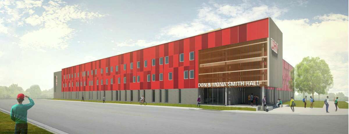 This artist's rendering shows what UHV Don & Mona Smith Hall is expected to look like oncecompleted.