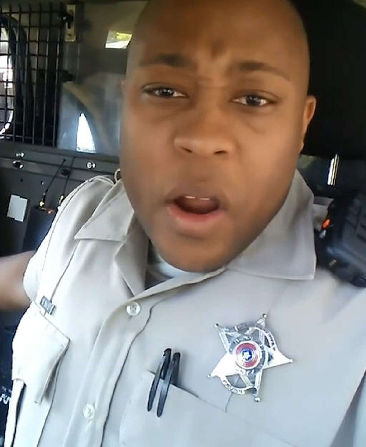 Keon Mack, a former deputy with the Henderson County Sheriff's Office in Texas, was let go after one of his comedy sketches went viral. Mack is looking to build upon his comedic skills and break into acting.