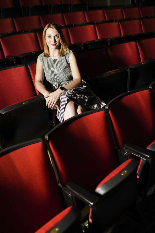 Queensbury Theatre producing executive director Marley Singletary. Queensbury Theatre is a non-profit organization located in a facility with 250 seats proscenium theatre. Photo: Marie D. De Jesus, Houston Chronicle / Houston Chronicle / © 2018 Houston Chronicle