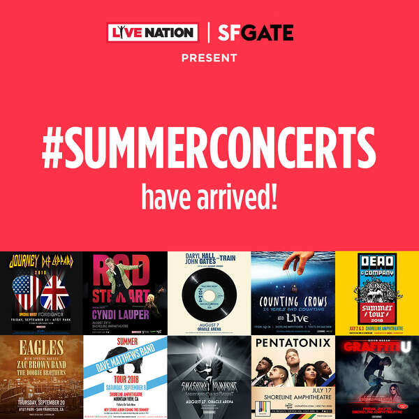 LiveNation 2018 Summer Concerts Series
