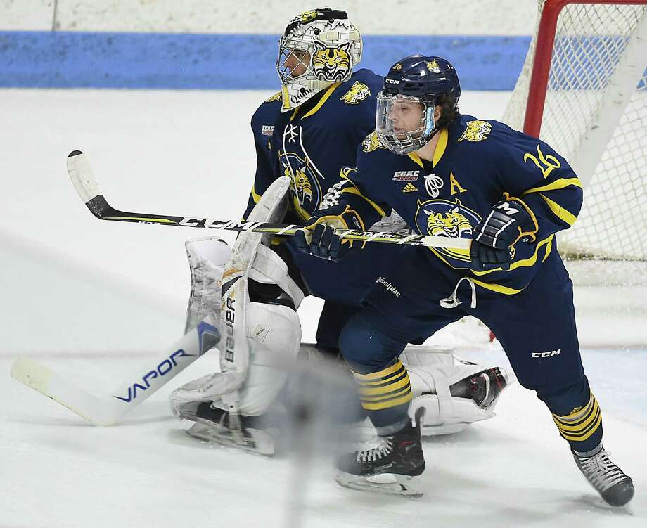 Quinnipiac released its 2018-19 men's hockey schedule on Friday. Photo: Catherine Avalone / Hearst Connecticut Media File Photo / New Haven Register