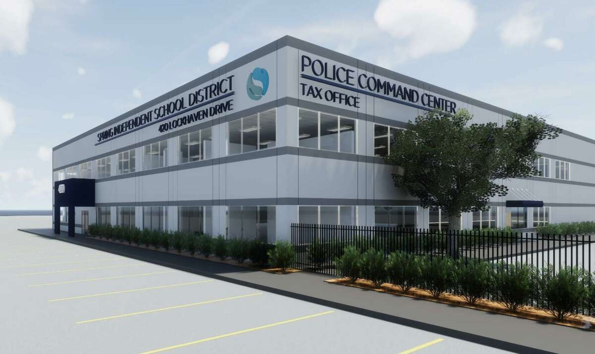 Rendering of new Spring ISD police headquarters