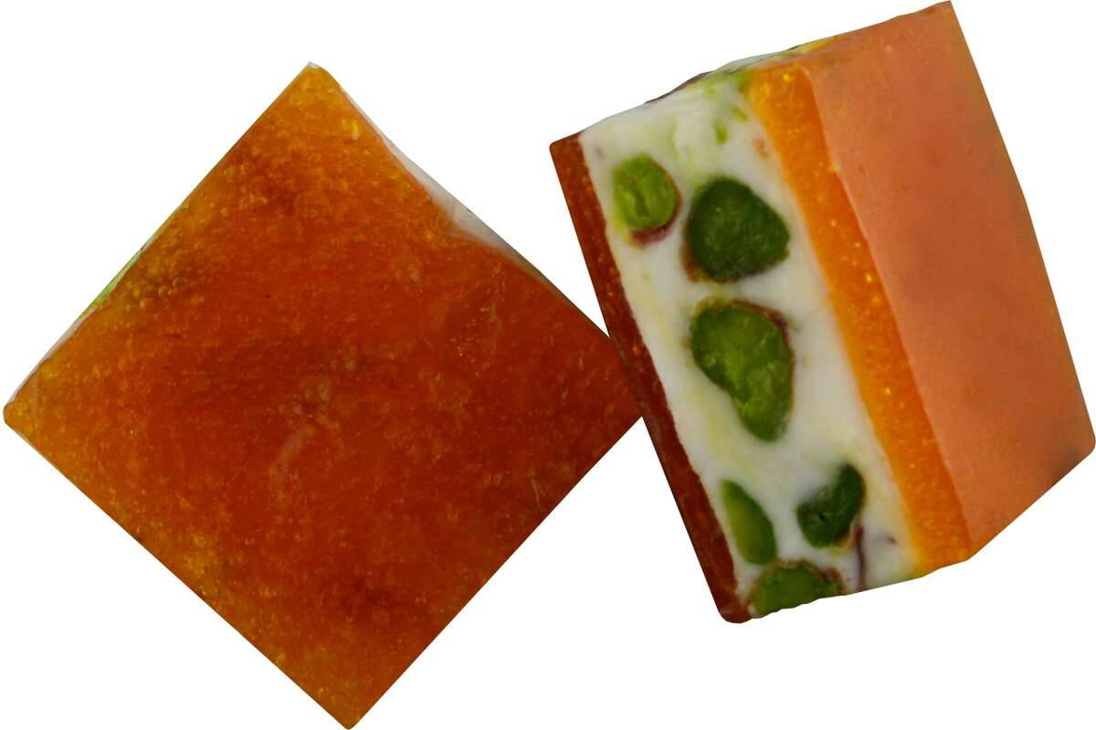 Nougat with apricot is among the offerings at Semiramis Fine Chocolates & Sweets.