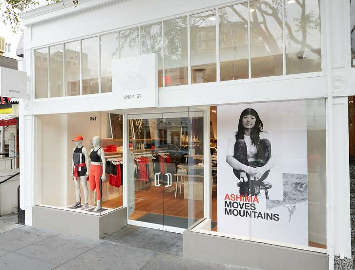 The North Face has opened its second female-oriented retail store at 1974 Union St. with its newly revamped women's line, exclusive performance products, a specially trained sales associates.