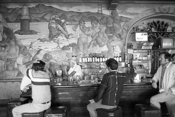 Beach Chalet Bar  on the Great highway, September 14, 1979