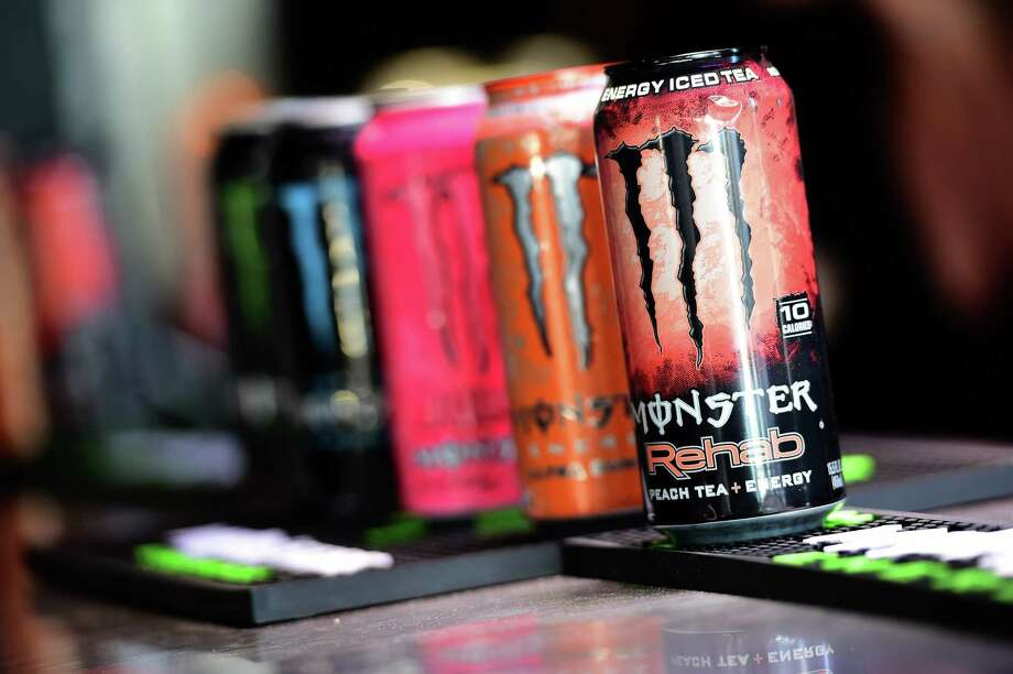 DAYTONA BEACH, FL - FEBRUARY 26:  A detail of Monster Energy drink during the 59th Annual DAYTONA 500 at Daytona International Speedway on February 26, 2017 in Daytona Beach, Florida.  (Photo by Jared C. Tilton/Getty Images) ORG XMIT: 691277925 Photo: Jared C. Tilton / 2017 Getty Images