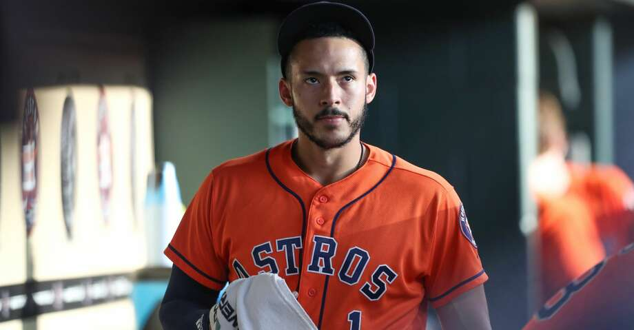 Shortstop Carlos Correa is not experiencing any pain, but abstained from on-field baseball activities to continue mending his sore right side Friday. Photo: Steve Gonzales/Houston Chronicle