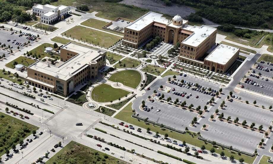 An aerial view of the Texas A&M University-San Antonio campus Photo: File Photo /San Antonio Express-News / © 2015 San Antonio Express-News