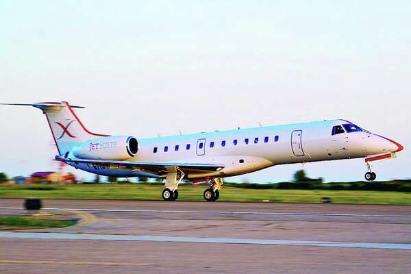 JetSuiteX will begin Embraer 135 service from Orange County to Las Vegas this month. (Image: JetSuiteX)