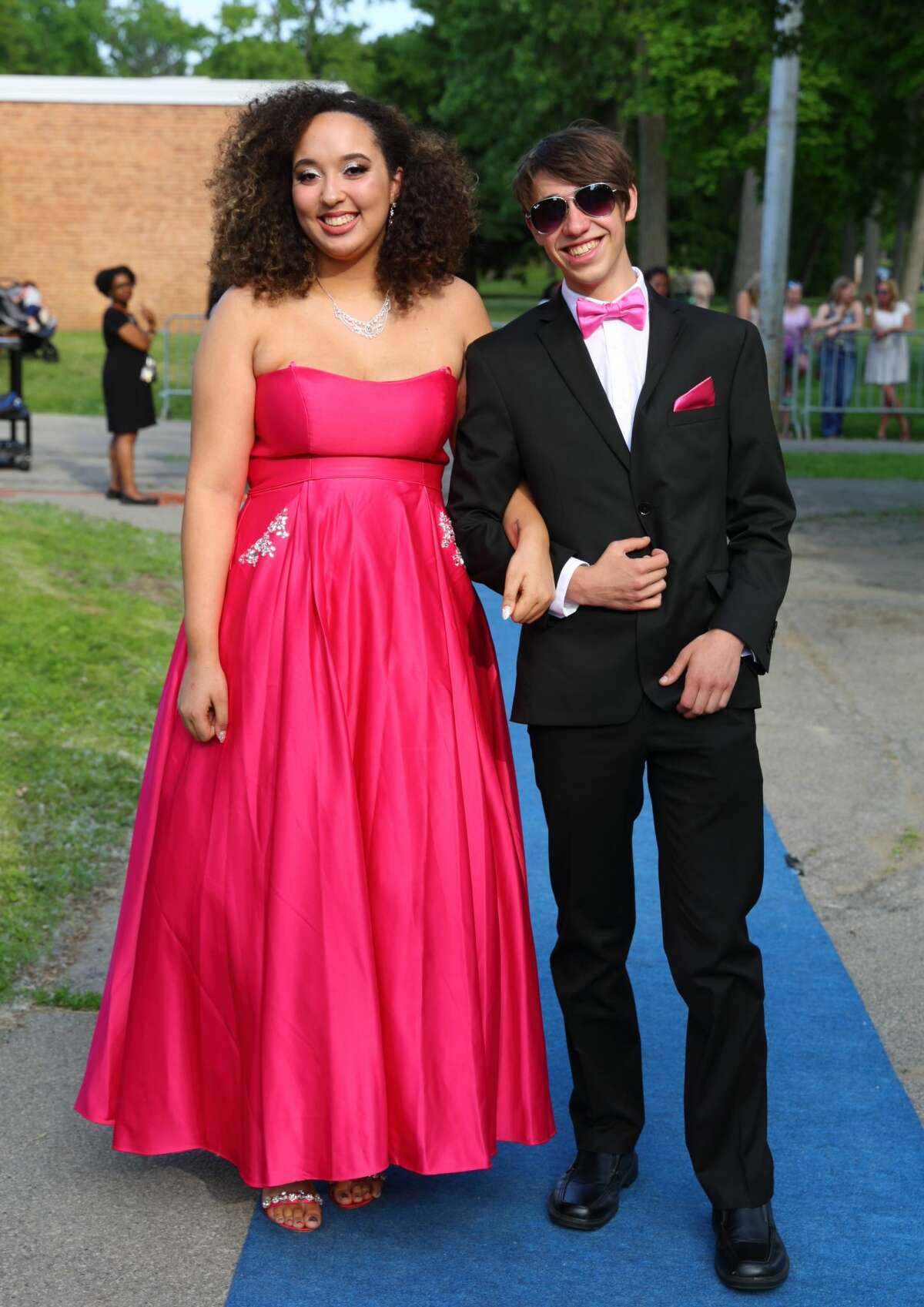 Were you Seen at the Schenectady High School Junior/Senior prom walk-in at the high school on Friday, June 8, 2018?