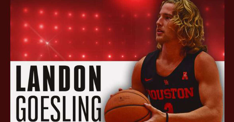 St. Edward's University guard Landon Goesling has signed a scholarship agreement with the University of Houston, the school announced Friday night. Photo: @UHCougarMBK