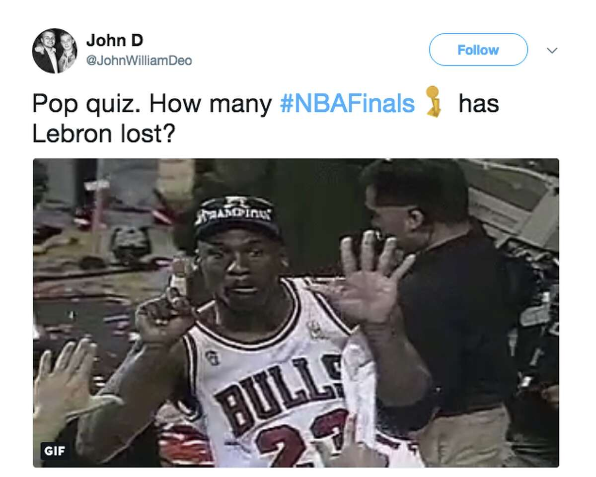 The best memes from Game 4 of the NBA Finals.