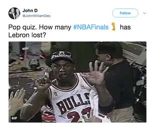 Lebron To The Warriors Sweep Jokes And More The Best Memes From Game 4 Of The Nba Finals Sfchronicle Com