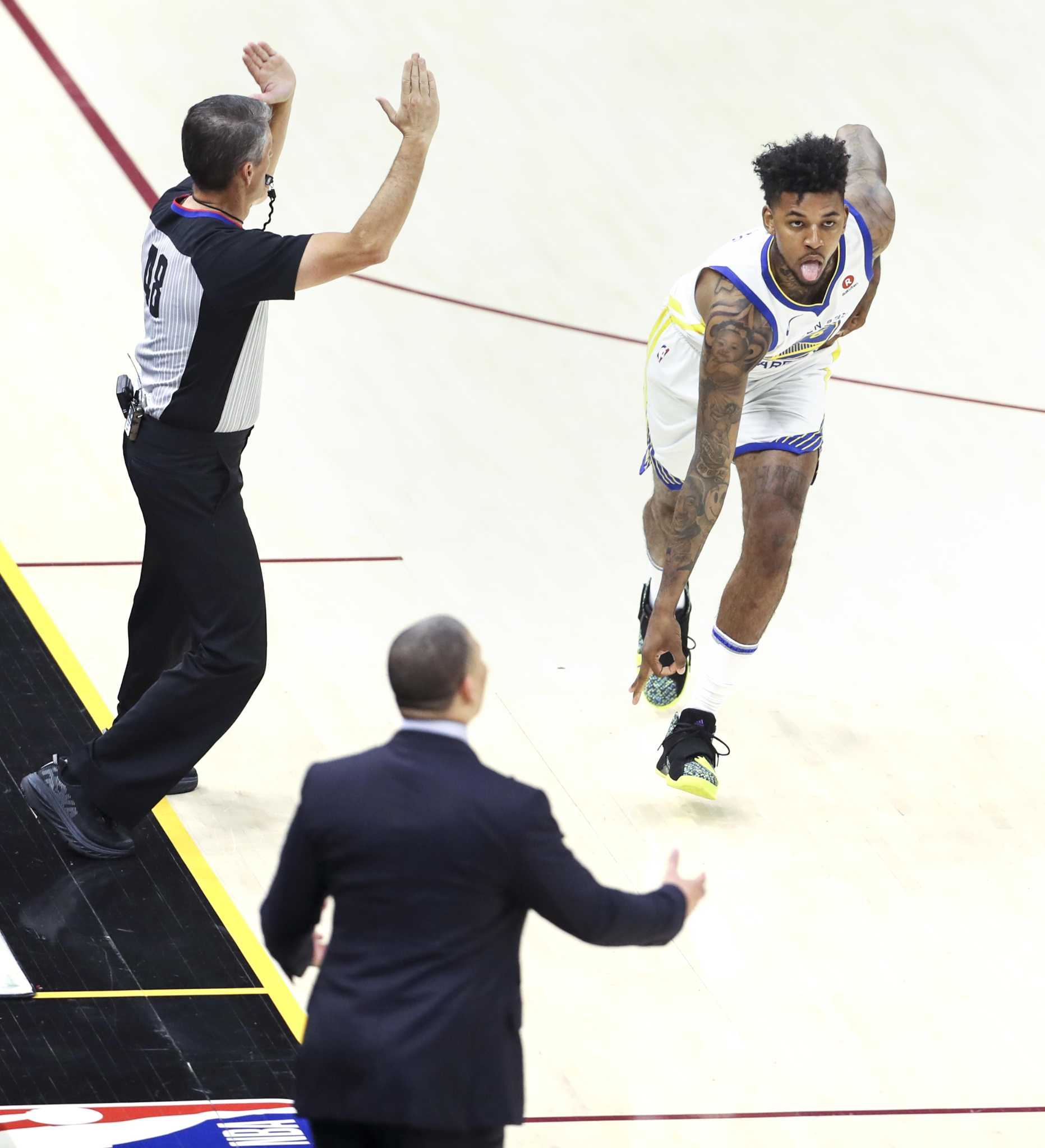 1e2520998  No more Swaggy P   Warriors  Nick Young gives himself new nickname  following Finals win - SFGate
