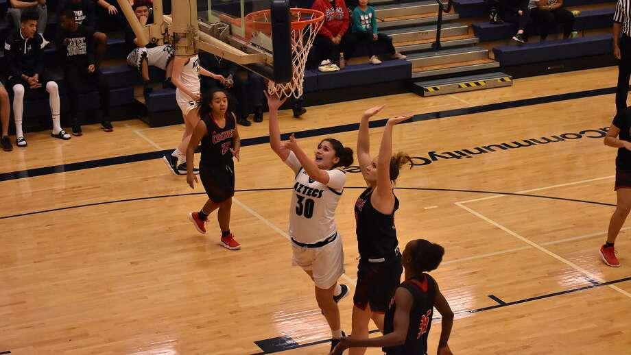 TAMIU women's basketball added Pima Community College junior transfer Christine Ortega to its recruiting class on Friday. Photo: Courtesy Of TAMIU Athletics, File