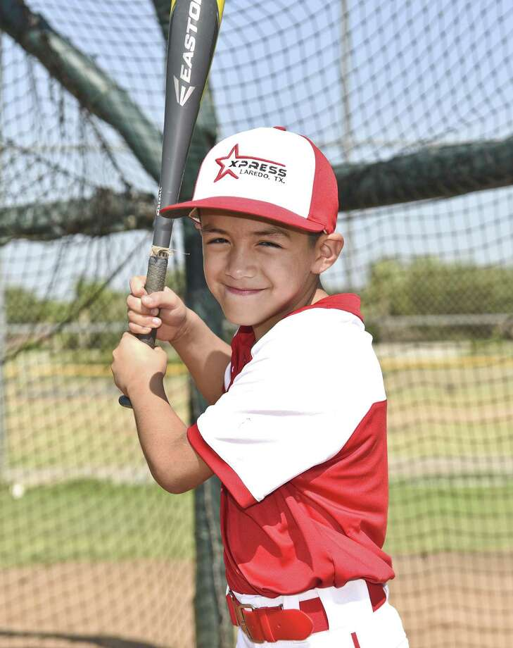 Fernando A. Lemus II has been playing youth baseball since he was 3 years old. Photo: Danny Zaragoza /Laredo Morning Times / Laredo Morning Times