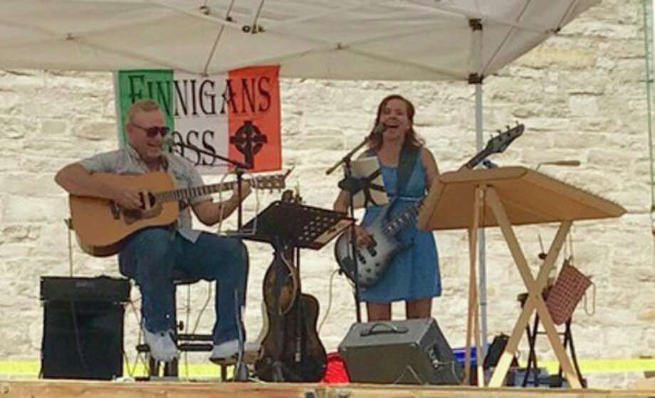 The popular Thumb-based duo, Finnigans Cross, will be the featured performers 'Live On Stage' at the Port Austin Farmers Market next weekend. (Submitted Photo)