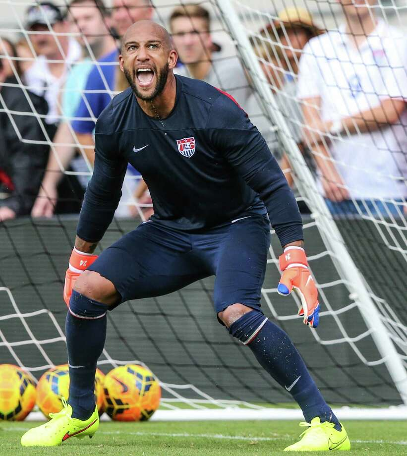 Tim Howard and the U.S. men's soccer team failed to qualify for the World Cup. Photo: Gary McCullough / Associated Press / AP