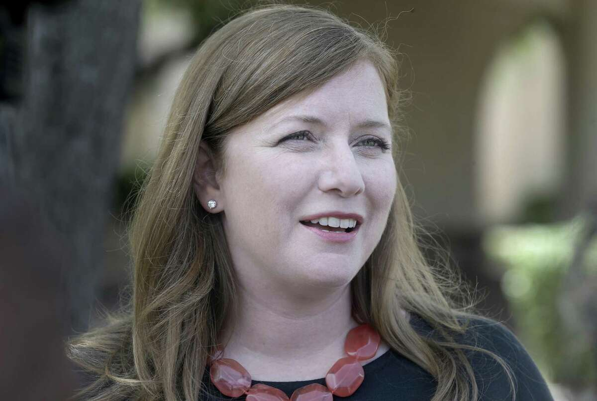 Lizzie Pannill Fletcher, the Democrat challenging Republican incumbent John Culberson for the 7th Congressional District, supports the proposed $2.5 billion flood control bond that goes before Harris County voters on Aug. 25. ( Melissa Phillip / Houston Chronicle )