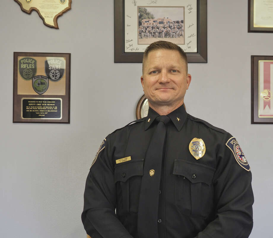 Seth Herman is serving as interim chief of the Midland Police Department. Photo: Tim Fischer/Reporter-Telegram