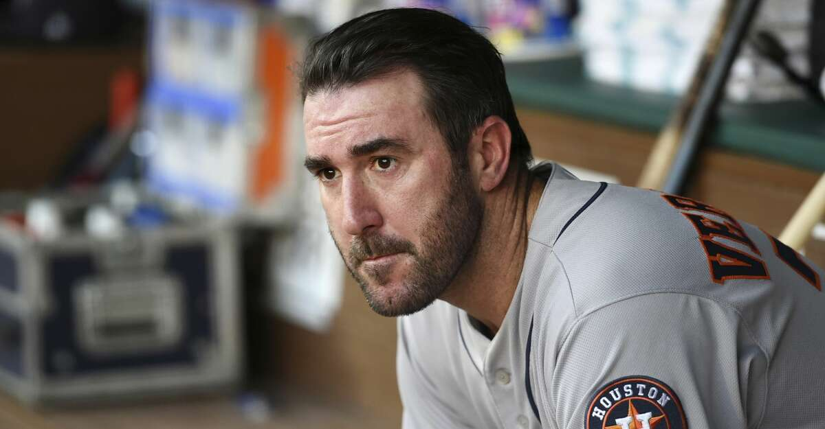 At this point in the season, Astros ace Justin Verlander is posting better numbers than he did during his MVP campaign with the Tigers in 2011.
