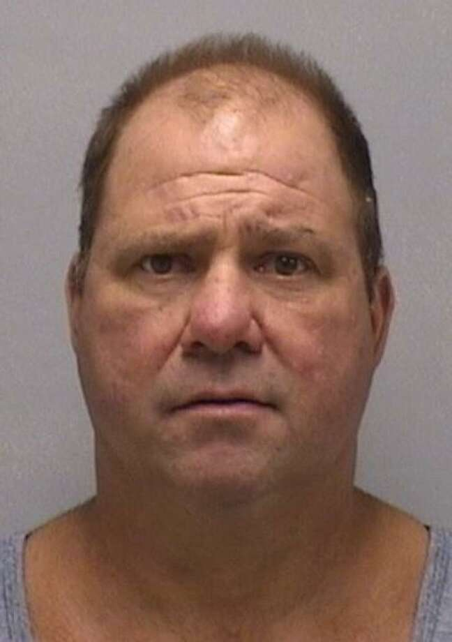 Robert LaRowe, 52, of Derby, Conn., was charged with evading responsibility, failure to maintain a proper lane and distracted driving. LaRowe turned himself in on an active warrant on June 5, 2018. Photo: Contributed Photo / Orange Police Department / Contributed Photo / Connecticut Post Contributed