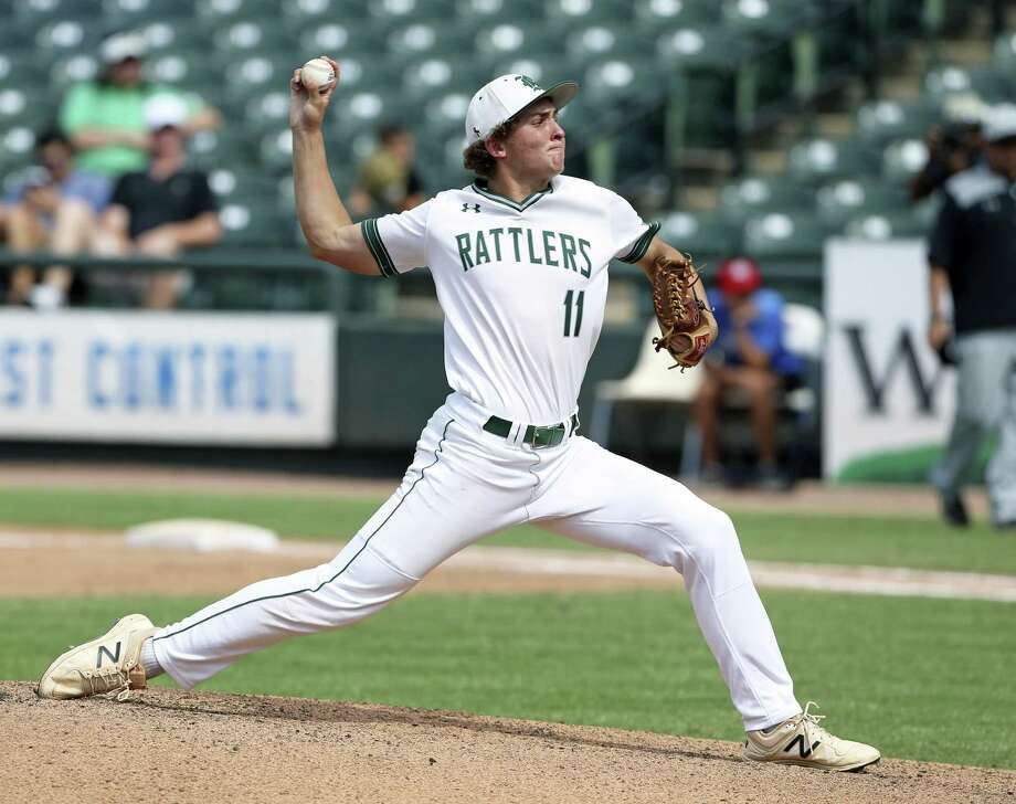 Texas commit Travis Sthele, a pitcher and shortstop, is one of four starters back from Reagan's team that reached the state final in 2018, where it lost 7-2 to Southlake Carroll at Dell Diamond. Photo: Tom Reel / San Antonio Express-News / 2017 SAN ANTONIO EXPRESS-NEWS