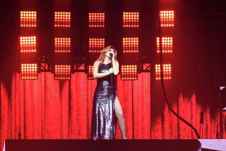 Shania Twain in Concert at the Toyota Center in Downtown Houston on Saturday June 9, 2018