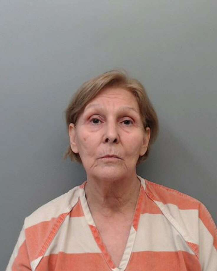 Martha Sanchez Hinojosa, 71, was charged with accident involving damages to a vehicle. Photo: Webb County Sheriff's Office