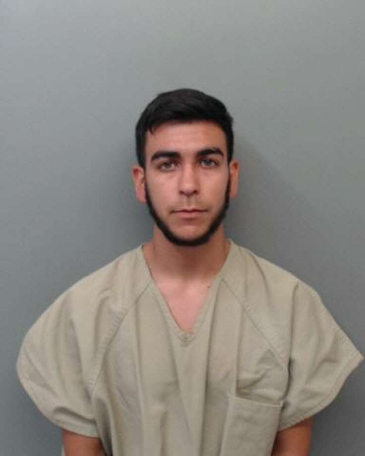 Juan Aaron Garza, 22, was charged with transporting and conspiring to transport immigrants who had crossed the border illegally. Photo: Webb County Sheriff's Office