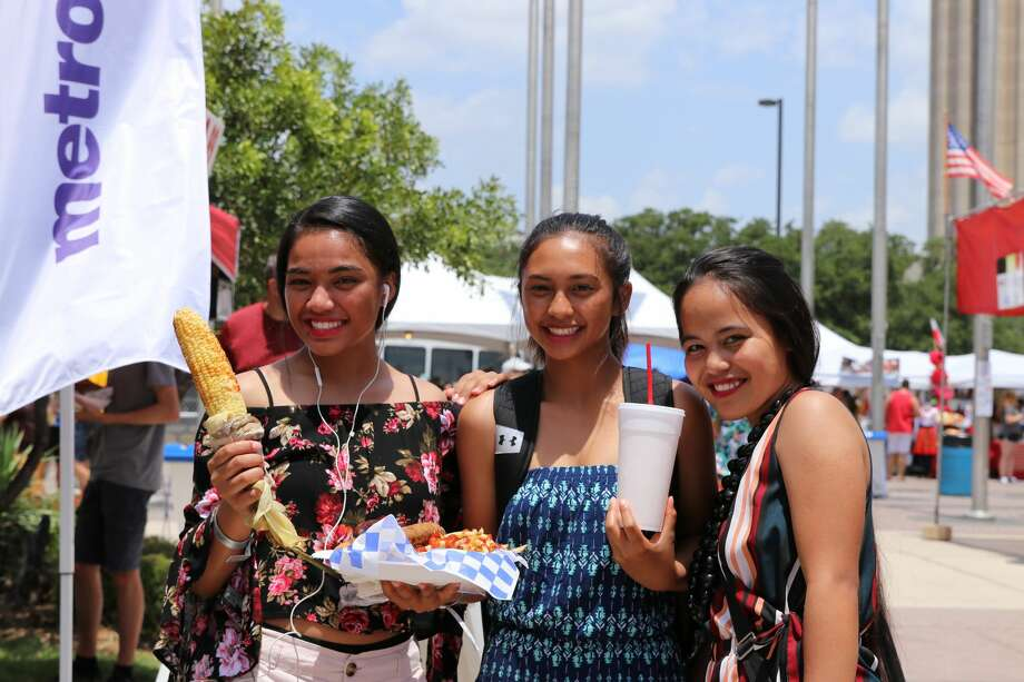 Locals will also show for a good festival. Despite the punishing heat, the annual Texas Folklife Festival packed them in Saturday, June 9, 2018. Food, culture and Texas history all in one spot. Photo: Stacey Lovett For MySA