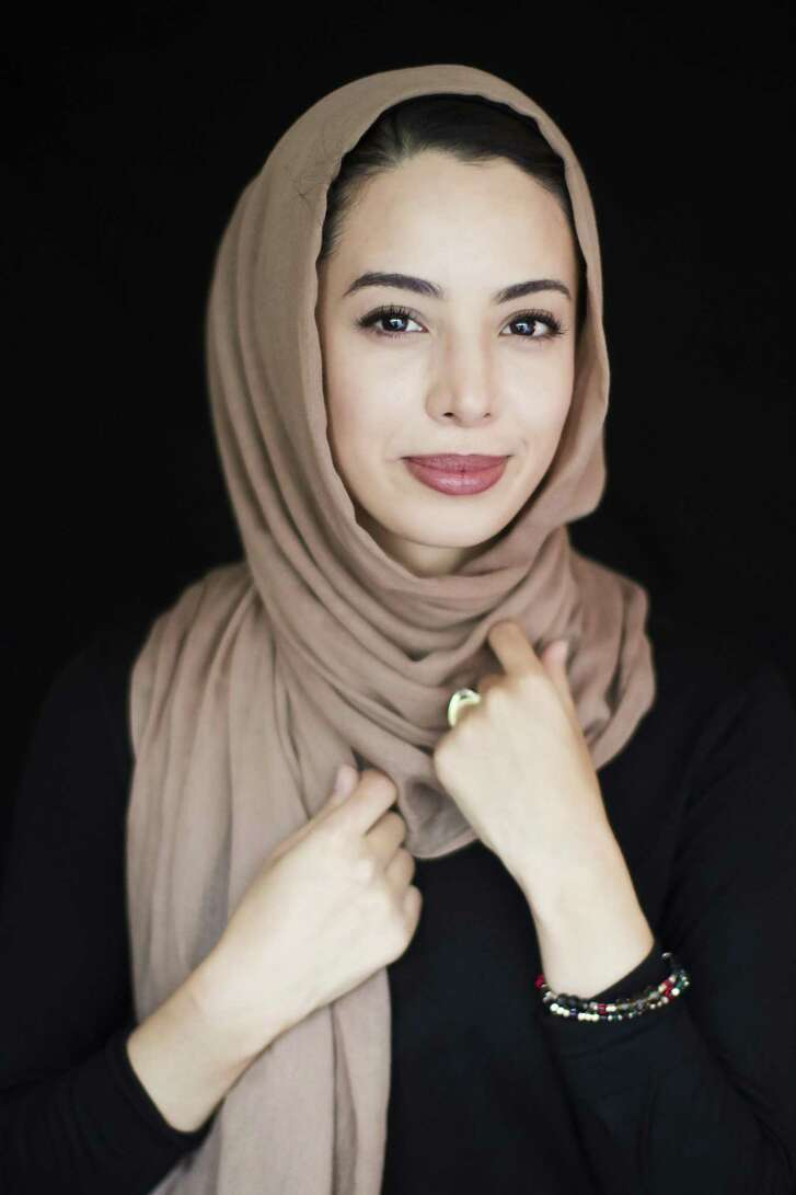 Noha Sahnoune, 25, is a Muslim woman in Houston who uses Instagram and social media to open the world to more contemporary images of Muslim women. Sahnoune is a photographer and writer. Tuesday, June 5, 2018, in Houston. ( Marie D. De Jesus / Houston Chronicle )