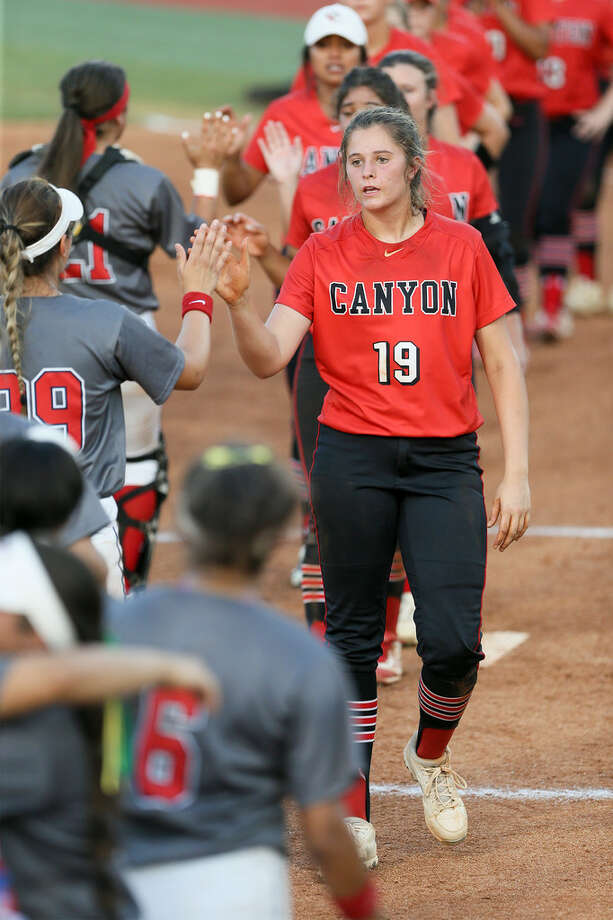 New Braunfels Canyon senior Brooke Vestal Photo: Marvin Pfeiffer