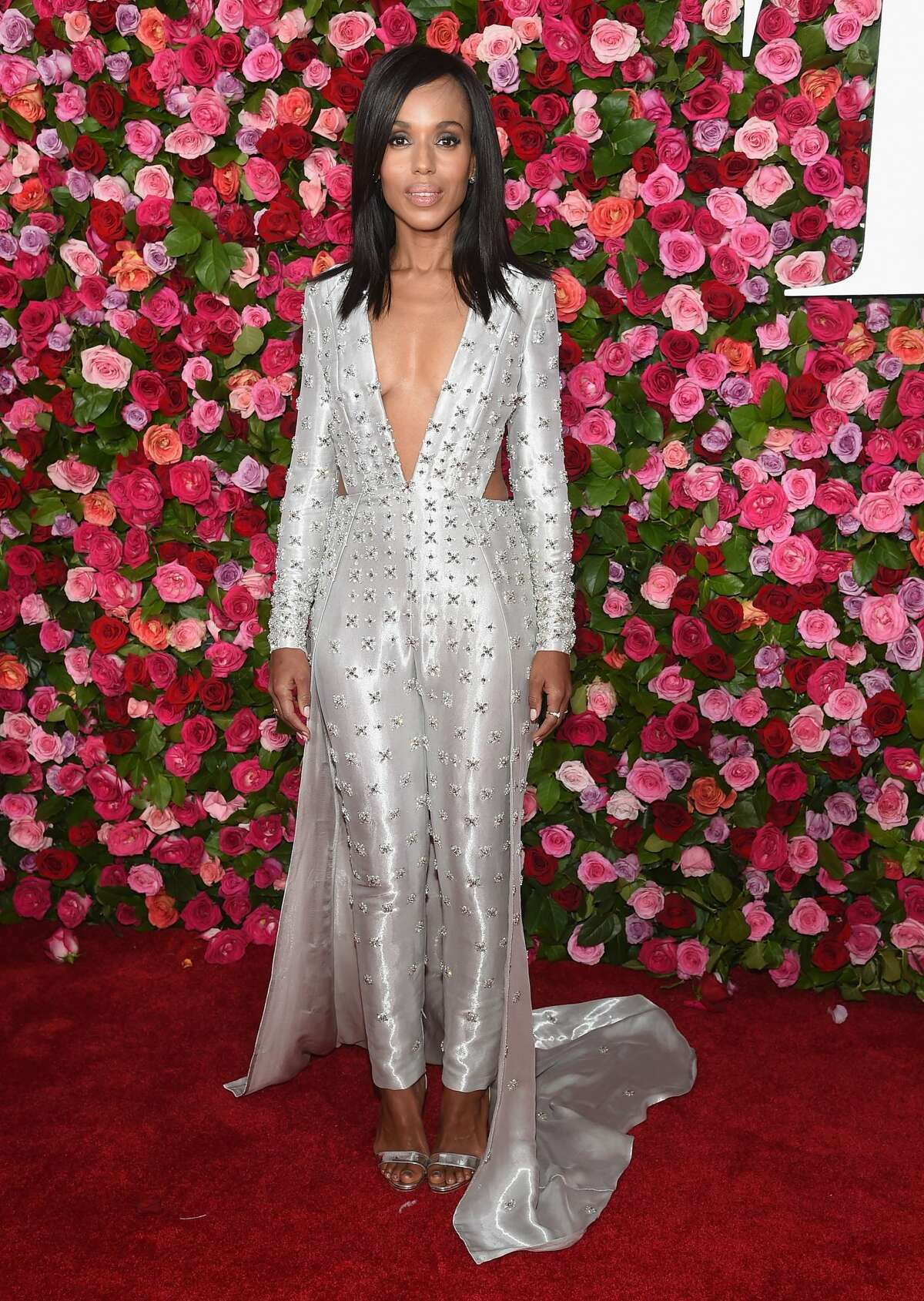 Worst: Kerry Washington, your outfit looks like fishing waders dressed up with sleeves and a train.