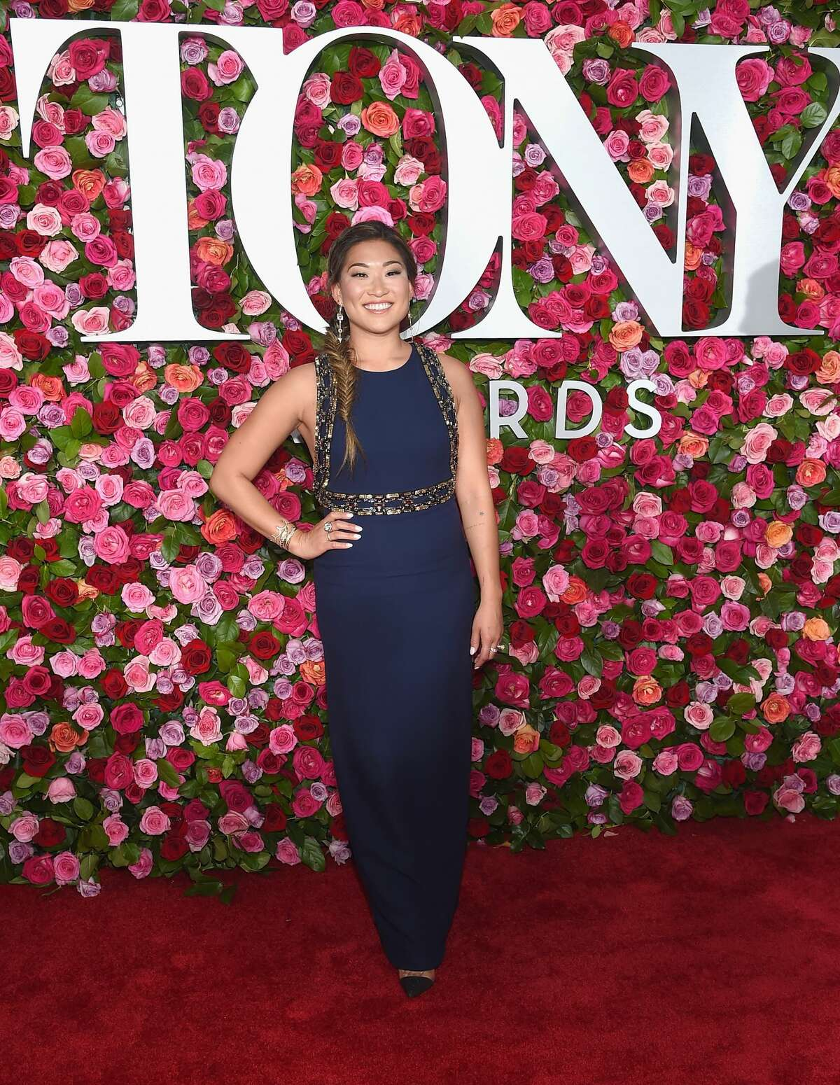 NEW YORK, NY - JUNE 10: Jenna Ushkowitz attends the 72nd Annual Tony Awards at Radio City Music Hall on June 10, 2018 in New York City. (Photo by Jamie McCarthy/Getty Images)