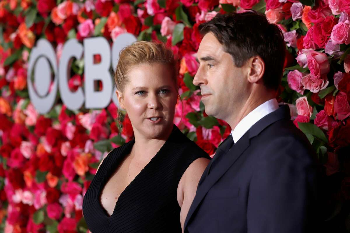 NEW YORK, NY - JUNE 10: Amy Schumer and Chris Fischer attends the 72nd Annual Tony Awards at Radio City Music Hall on June 10, 2018 in New York City. (Photo by Jemal Countess/Getty Images for Tony Awards Productions)
