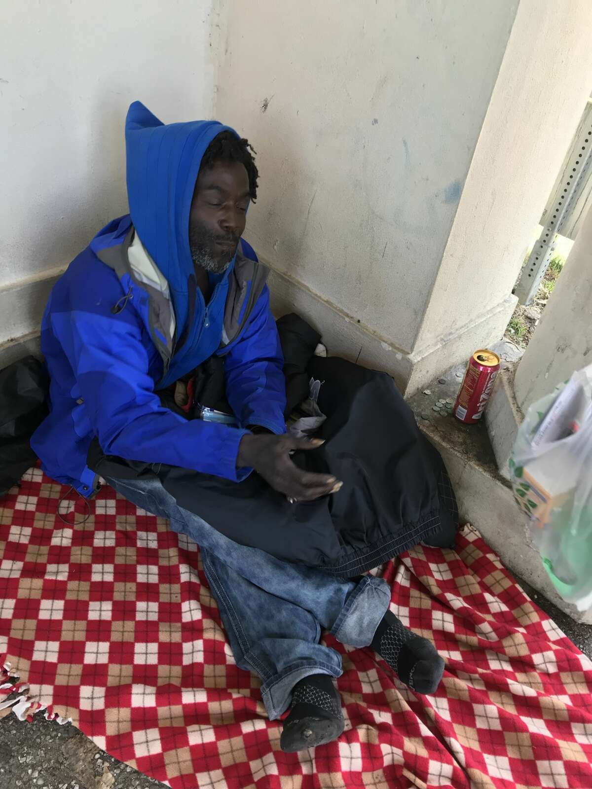 A homeless Oakland man named Drew is receiving assistance from locals after a video showed another man throwing Drew's belongings into Lake Merritt.