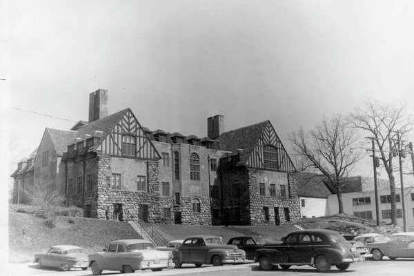 Midland County Courthouse in the years following the 1958 addition. (Daily News file photo)