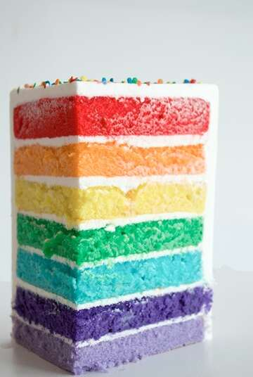 Excellent Houston Takes The Cake For Lgbt Pride Month Houstonchronicle Com Funny Birthday Cards Online Overcheapnameinfo