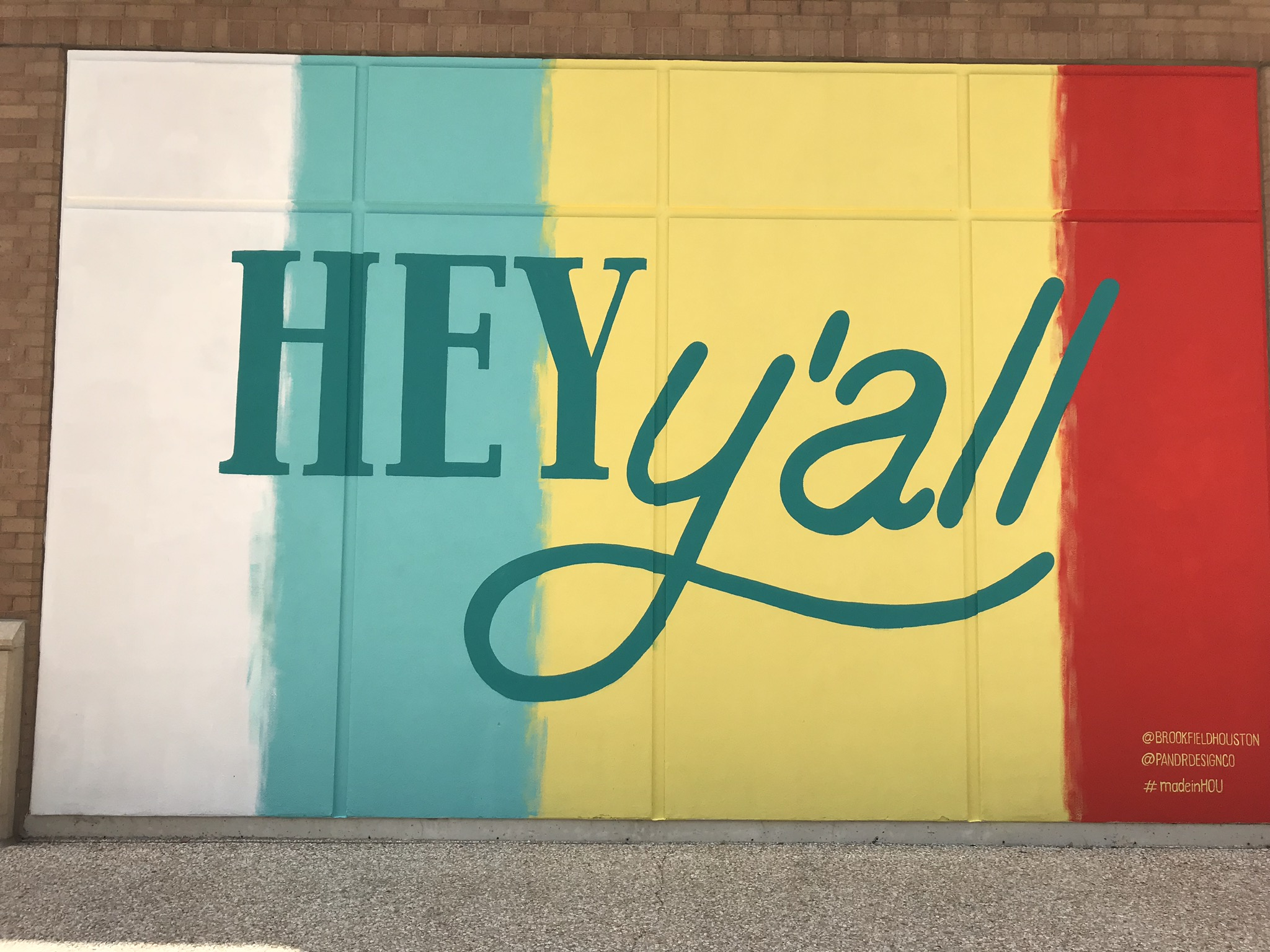 New Colorful Murals Brighten Up Downtown Houston Center